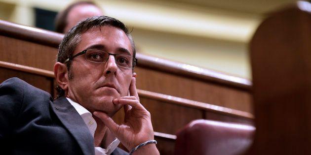El exdiputado socialista Eduardo Madina cuando todavía era