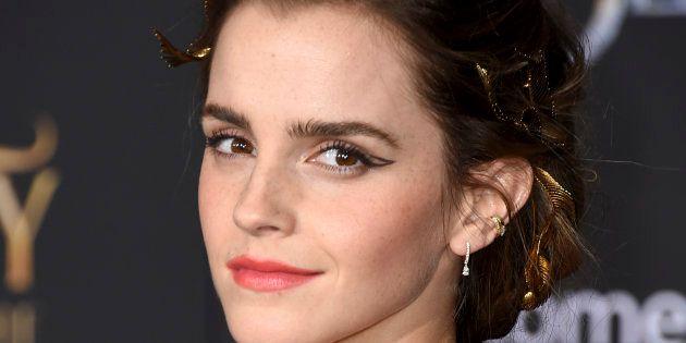La actriz Emma Watson, en el estreno de 'La Bella y la Bestia' el 2 de marzo de 2017 en Los