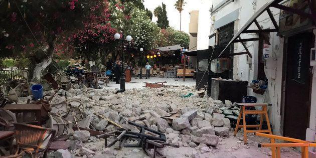 Un terremoto en la isla griega de Kos deja dos muertos, tres heridos graves y daños