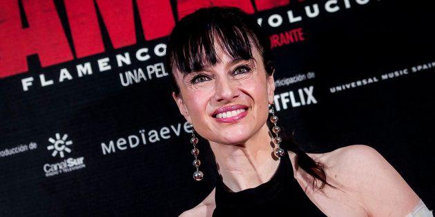 Beatriz Rico en el estreno de 'Camarón: Flamenco y Revolución' el 31 de mayo de 2018 en