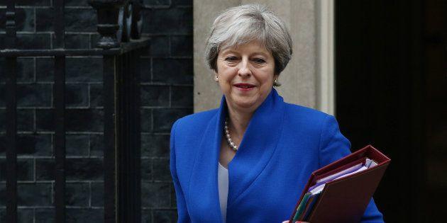 La primera ministra británica, Theresa May, el pasado
