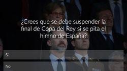 ENCUESTA: ¿Crees que se debe suspender la final de Copa del Rey si se pita el himno de