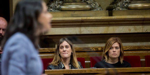 Tensión en el Parlament: Ciudadanos y el PP abandonan el