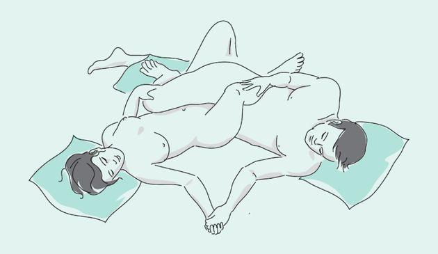 La postura ideal para despertar el apetito