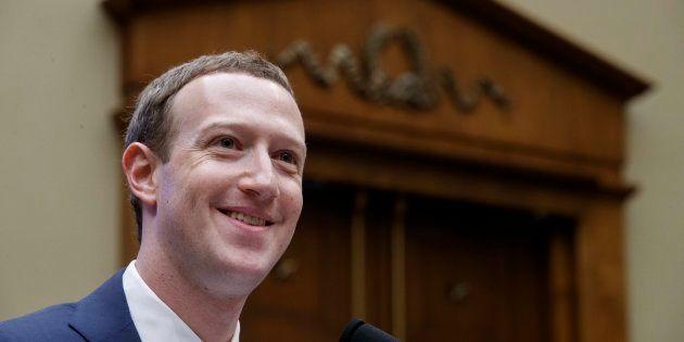 El fundador y presidente ejecutivo de Facebook, Mark