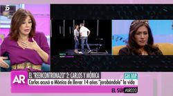 Ana Rosa Quintana, a Carlos Lozano en pleno directo: