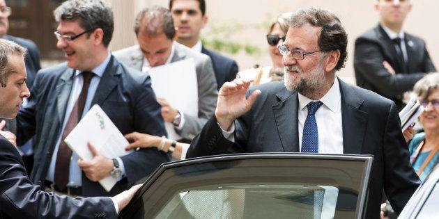 Rajoy tras inaugurar el Parador de