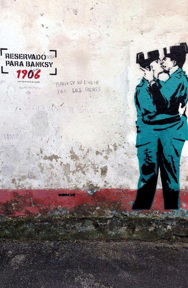 Investigan si una obra aparecida en Ferrol es de
