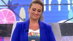 Carlota Corredera llora en 'Sálvame':