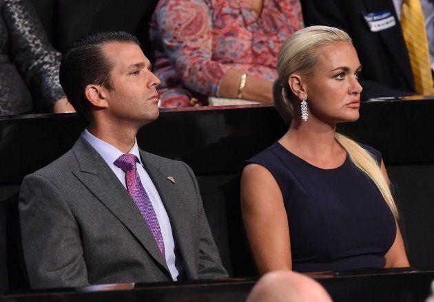 Imagen de archivo de Donald Trump Jr y su mujer, Vanessa