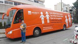 La Audiencia de Madrid permite circular al autobús de Hazte Oír alegando