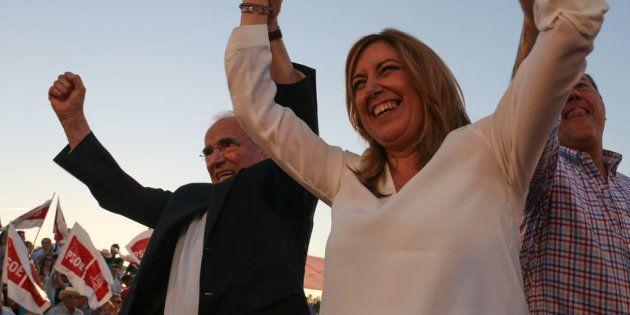 Susana Díaz ganaría las elecciones en Andalucía con 10 puntos sobre el