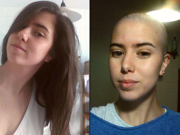 María de la Villa publicó en su blog cómo le quedaba el nuevo look a consecuencia de la