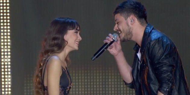 El gesto de Aitana y Cepeda que ha vuelto locos a los fans del concierto de