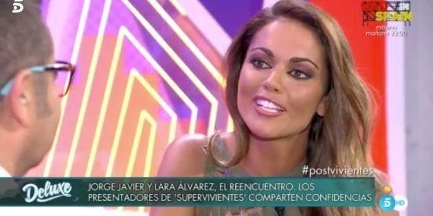 Lara Álvarez confiesa cuál es el concursante de 'Supervivientes' por el que se ha sentido