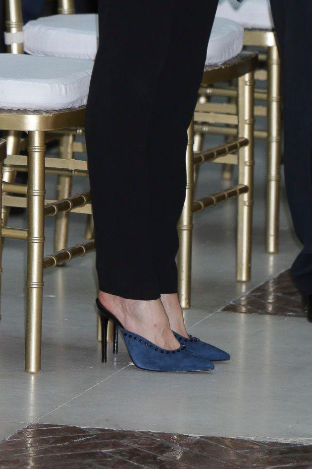 La reina Letizia se apunta a los zapatos de moda, los