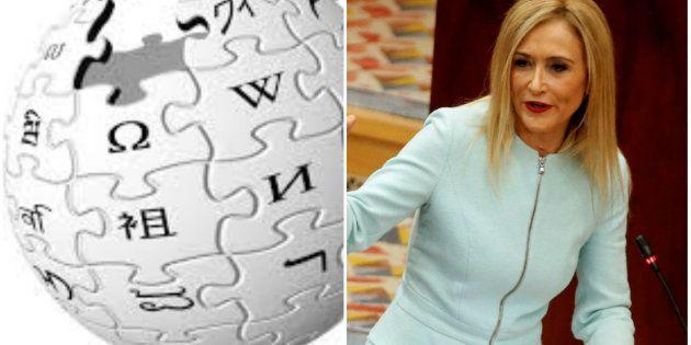 El troleo en Wikipedia con Cifuentes que triunfa en