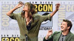 Halle Berry se marca un hidalgo en plena
