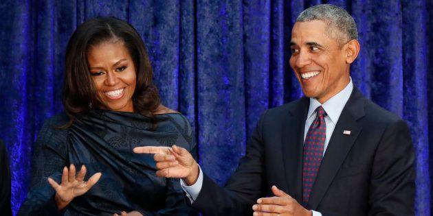 El intercambio de mensajes íntimos entre Barack y Michelle que bate récords en