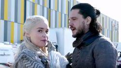 Emilia Clarke muestra las entrañas del rodaje de la última temporada de 'Juego de