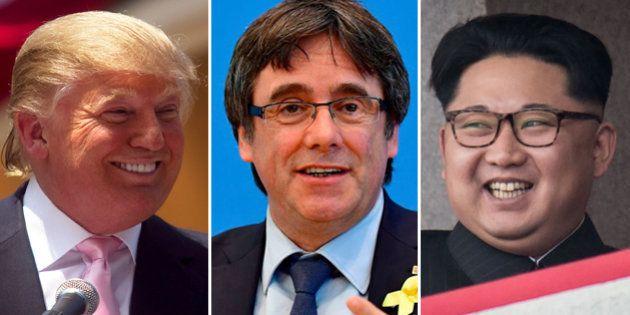 Puigdemont, Trump y Kim Jong Un, entre los favoritos de las casas de apuestas para ganar el Nobel de...