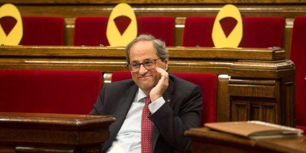 Torra reitera su ultimátum a Sánchez tras la negativa del Gobierno a reunirse para hablar de