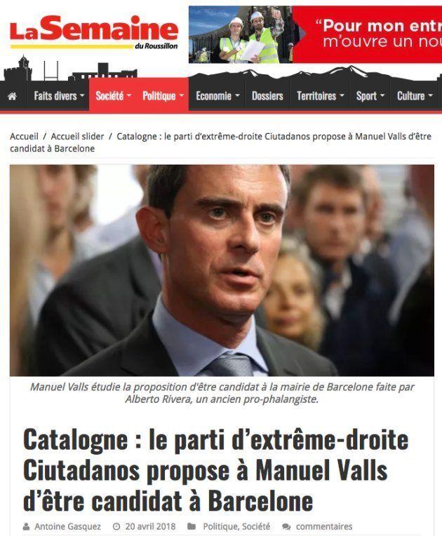 Un periódico francés define a Ciudadanos como