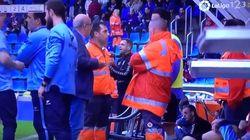 El Tenerife-Huesca, suspendido 15 minutos por una agresión a la árbitra