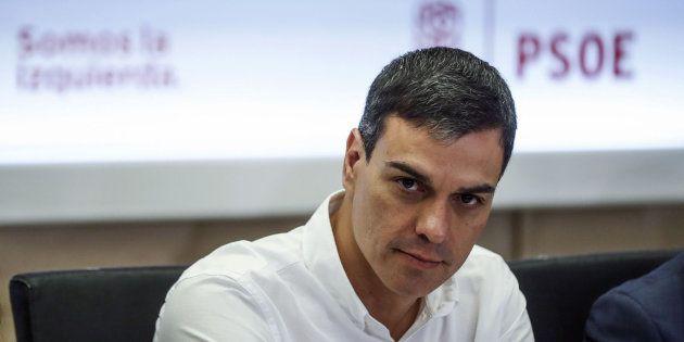 Pedro Sánchez, líder del PSOE e impulsor del federalismo como modelo territorial del