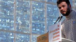 Gabriel Rufián se mofa de TVE durante lo ocurrido en el