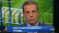 Recuperan un tuit antiguo de Cristóbal Soria tras la goleada del Barça al