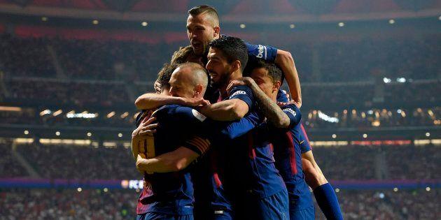 El Barça gana la Copa del Rey tras golear al Sevilla