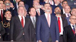 El detalle en esta foto de Felipe VI que no ha pasado desapercibido en