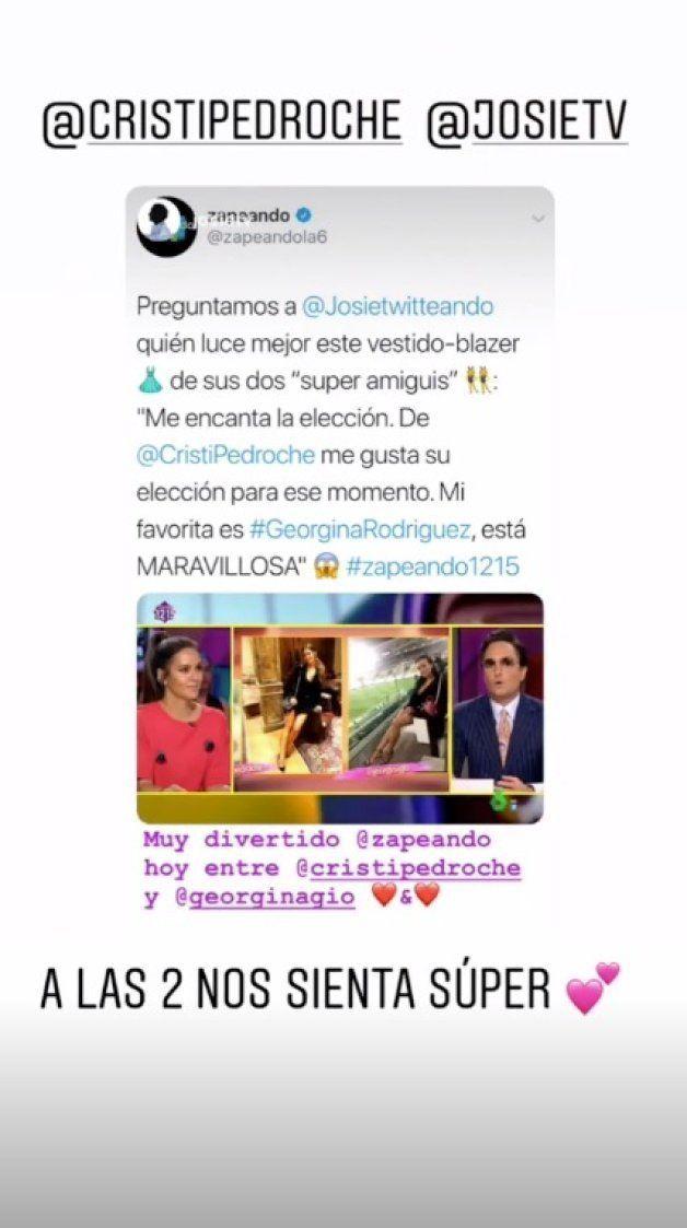 La respuesta de Georgina Rodríguez al