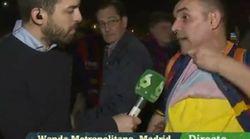 Este aficionado gallego del Barça emociona a las redes con su discurso sobre la libertad de