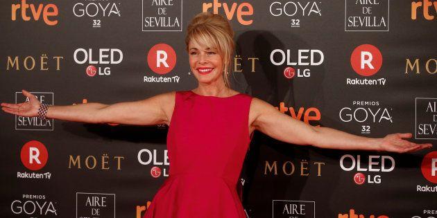 Belén Rueda en la alfombra roja de los Premios