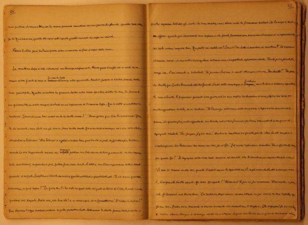 Manuscrito de 'El