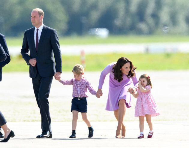 Kate es una madre más: así lidia con las rabietas de su hija