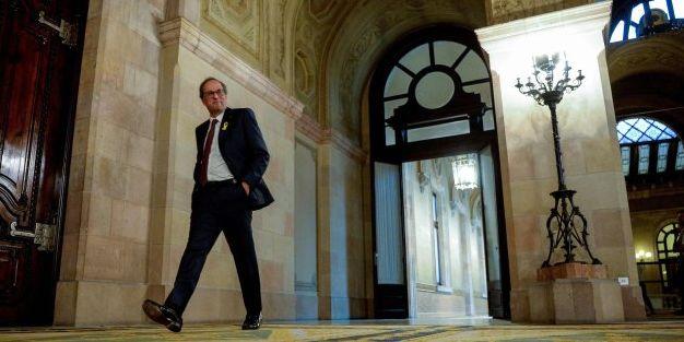 En directo: Torra y ERC pactan un cierre de filas hasta que el Supremo dicte