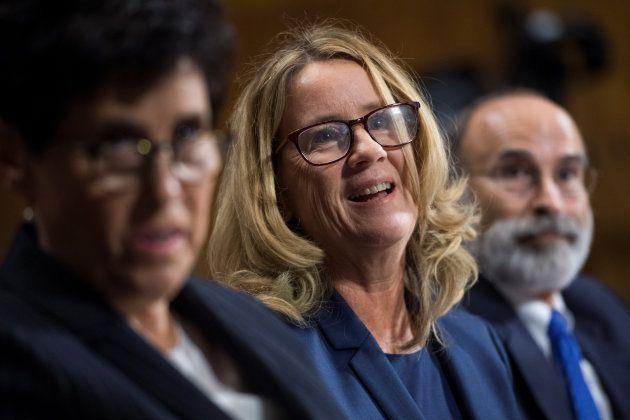 Christine Blasey Ford, una de las personas que acusa al juez de abusos