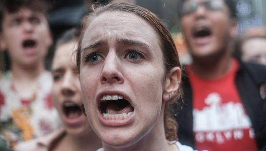 Fotos: las impactantes imágenes de la protesta contra