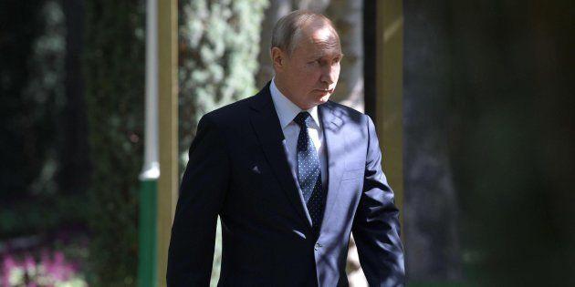 El presidente ruso, Vladimir Putin, en una imagen de