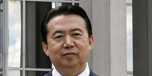 El director de Interpol, Meng Hongwei, en una imagen de
