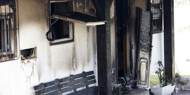 Los guardias civiles que acudieron al incendio de Vejer: