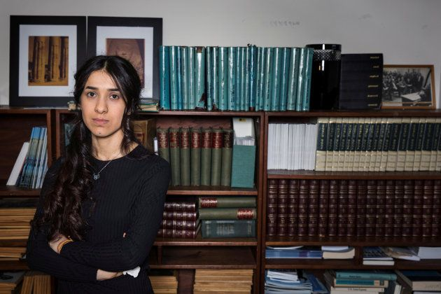 Nadia Murad, de esclava sexual del Estado Islámico a Nobel de la