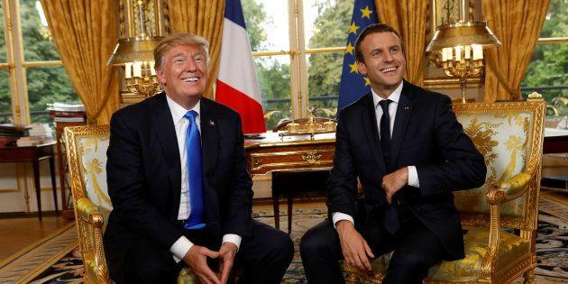 Donald Trump y Emmanuel