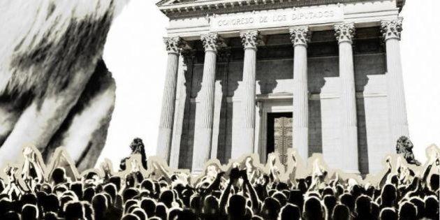 Rodea el Congreso convoca una protesta en la Audiencia Nacional durante la declaración de