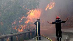 10.000 evacuados en el turístico sureste de Francia por un