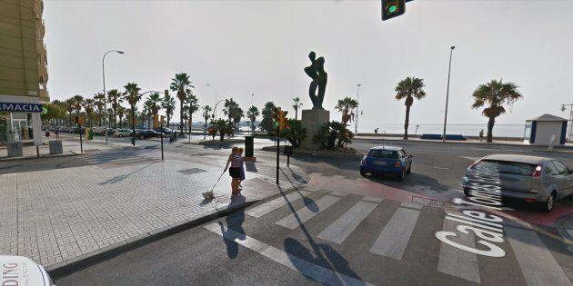 Cruce entre la avenida Antonio Machado y Tomás de Echevarría, donde se produjo el