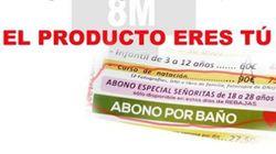 Denuncian la publicidad de una piscina en Jaén por
